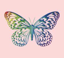 Rainbow Butterfly Kids Tee