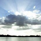 Manly Beach, Brisbane, QLD by Darsha Gillmore