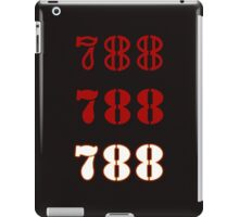 H.I.S.S. Numbers iPad Case/Skin
