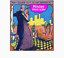 Mister Whirl -Wide! Womens Fitted T-Shirt