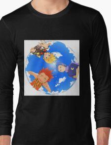 Ventus, Lea and Isa - Kingdom Hearts : Birth By Sleep Long Sleeve T-Shirt