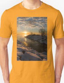 Sunshine on the Ice - Lake Ontario, Toronto, Canada T-Shirt