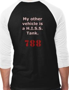 My other vehicle is a H.I.S.S. Tank Version 2 Men's Baseball ¾ T-Shirt