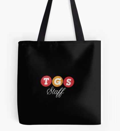 TGS Staff Logo Tote Bag