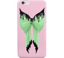 Bowlicious (Green) iPhone Case/Skin