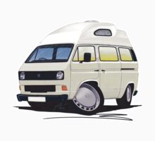 VW T25 / T3 (High Top) White by Richard Yeomans
