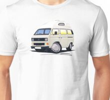 VW T25 / T3 (High Top) White Unisex T-Shirt