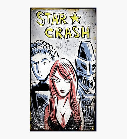 Starcrash, Star Crash, Art, Sci-Fi, Poster, B-Movie, bmovie, 70's, 80's, italian, science fiction, joe badon Photographic Print