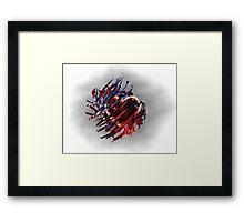 Twisted Heart Framed Print