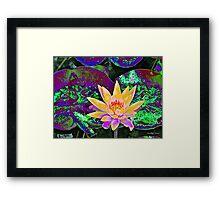 Oz Lily Framed Print