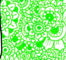 Whale: Green Sticker