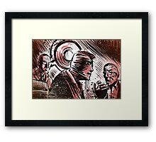 SECONDS, 1966, Art, Rock Hudson, John Frankenheimer, Sci-Fi, Thriller, Suspense, Mystery, Movie Buff, Father's Day, Birthday Present Framed Print