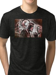 SECONDS, 1966, Art, Rock Hudson, John Frankenheimer, Sci-Fi, Thriller, Suspense, Mystery, Movie Buff, Father's Day, Birthday Present Tri-blend T-Shirt