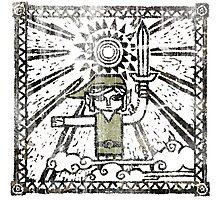 The Hero of Time - Zelda WW Photographic Print