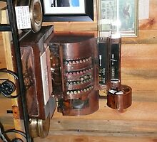 An Old Copper Cash Register. by Mywildscapepics