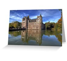 """Le Chateau de Trecesson""  Greeting Card"