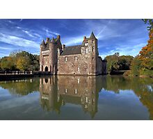 """Le Chateau de Trecesson""  Photographic Print"