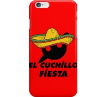 El Cuchillo Fiesta Knife Party iPhone Case/Skin