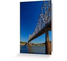 Mississippi Span Greeting Card