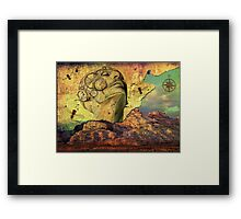 Find your way Framed Print