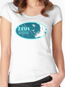 Zeus - God of Thunder Women's Fitted Scoop T-Shirt