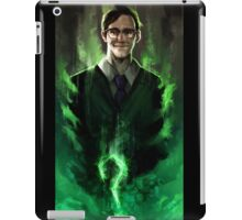 Riddle me this! iPad Case/Skin