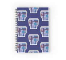 Arctic B.A.T. Battle Android Trooper Spiral Notebook