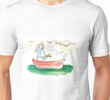 Sailing Girl Unisex T-Shirt