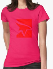 Mirror's Edge Logo Womens Fitted T-Shirt