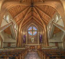 Peace Presbyterian Sanctuary by JGetsinger