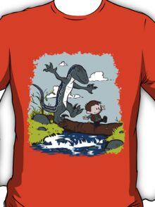 Jurassic World - Owen and Blue T-Shirt