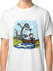 Jurassic World - Owen and Blue Classic T-Shirt