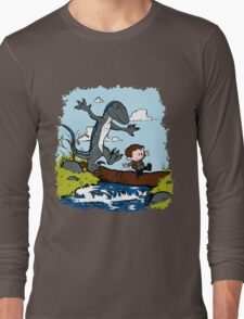 Jurassic World - Owen and Blue Long Sleeve T-Shirt