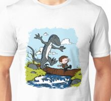 Jurassic World - Owen and Blue Unisex T-Shirt