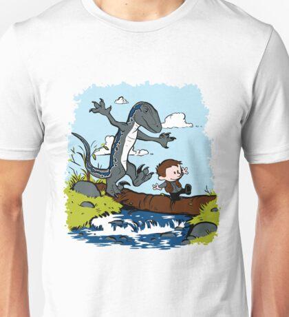 Jurassic World - Owen and Blue Unisex T-Shirt