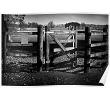 Country Gate Poster