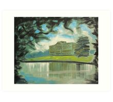 'Mr Darcy's 'Pemberley' (Lyme Park)' Art Print
