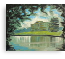 'Mr Darcy's 'Pemberley' (Lyme Park)' Canvas Print