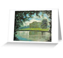 'Mr Darcy's 'Pemberley' (Lyme Park)' Greeting Card