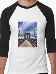 Brooklyn Bridge Men's Baseball ¾ T-Shirt
