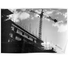 Crane & Sky Poster