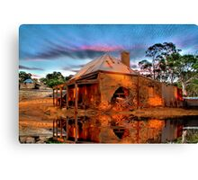 Reflections Of Ruin Canvas Print