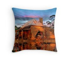 Reflections Of Ruin Throw Pillow