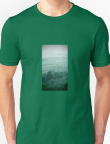 abstract hilly landscape Unisex T-Shirt