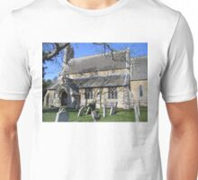 St. Giles Church, Holme. Unisex T-Shirt