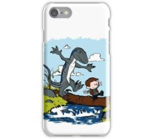 Jurassic World - Owen and Blue iPhone Case/Skin