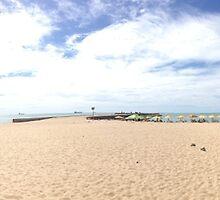 Fortaleza Beach Pano by omhafez