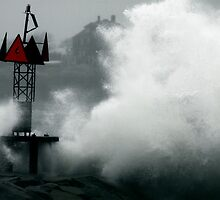 Buoy in Storm by Kahn