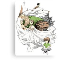 The Neverending Story - Montage  Canvas Print