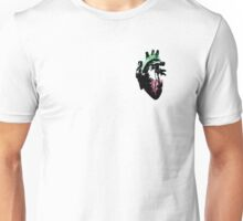 Abroromantic/Abrosexual Pride Heart (with black detailing) Unisex T-Shirt